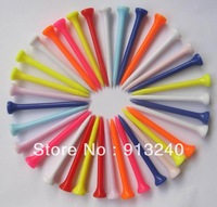 1000pieces/lot 83mm bulk plastic golf tee