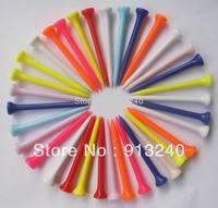 1000pieces/lot 83mm bulk plastic golf tee