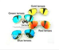 Highest Quality new 2013 Fashion RB Sunglasses Men women vintage brand designer color classic aviator retro Free shipping