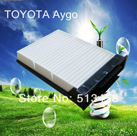 CU2317 wholesale car white fiber engine intake cabin air filter for Toyota 88508-0H010 auto part 22.3*16.2*4.1cm CF10080