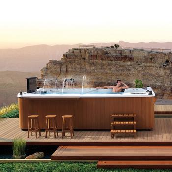 Mona lisa bathtub massage bathtub outdoor spa acrylic spa 3370