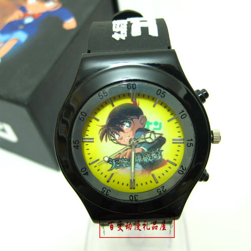 New Arrival Cosplay Sticker bag child electronic pointer watches color box Anime Accessory FREE SHIP(China (Mainland))