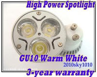 GU10 Warm White LED spot lighting AC85V-265V downlight spotlight LED lamp wall lights lamps