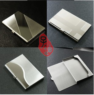 3 styles high quality metal cradit card holder name card case(China (Mainland))