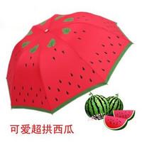 free shipping Mushroom watermelon umbrella princess umbrella folding strawberry sun umbrella