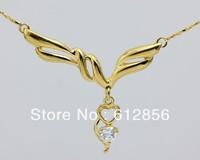 Fashion elegant rhinestone necklace angel  necklace Wholesale