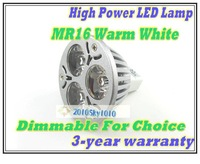 Dimmable for choice led 3w spot light Warm White AC85V-265V high power white color led bulb downlight lights spot lighting lamps