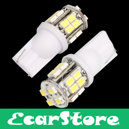 2 T10 W5W 194 Car White 20 SMD LED Side Light Bulb 12V(China (Mainland))
