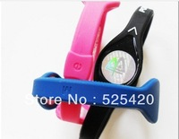 Free Shipping power Bands Silicone Wristband power Silicon Bracelet Energy Band power band various colour 100pcs with boxes