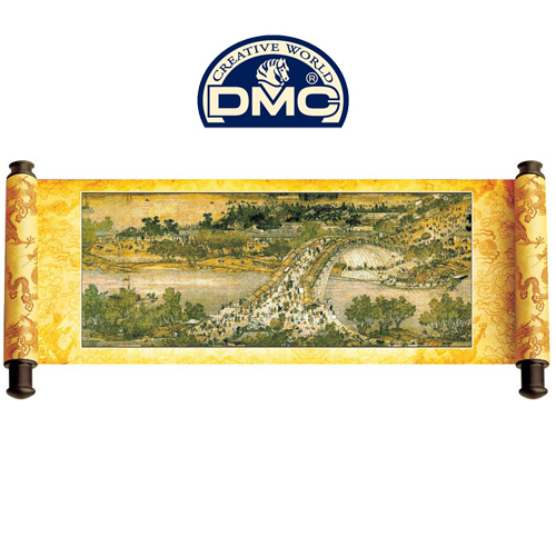 Dmc cross stitch chinese style kit arch bridge 61052(China (Mainland))