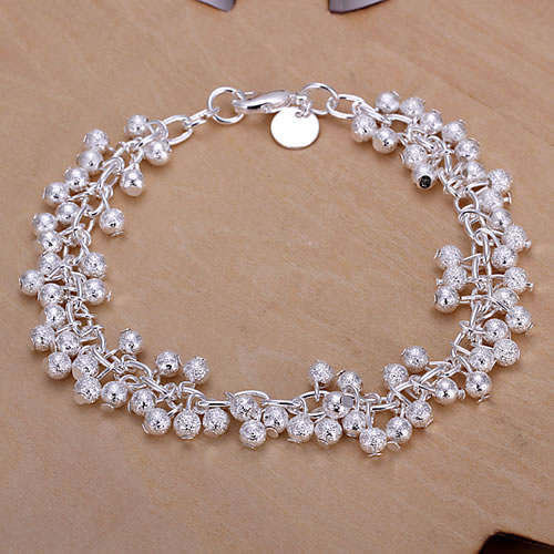 GSSPH232 wholesale,925 silver grapes bracelets,beautiful chain,fashion jewelry, Nickle free,antiallergic,factory price(China (Mainland))