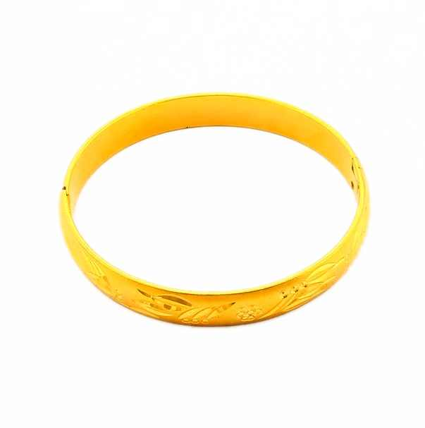 New Arrival Fashion 24K GP Gold Plated Mens Jewelry Bangle Yellow Gold Golden Bracelet Bangle Free Shipping YHDB005(China (Mainland))