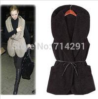 2014 autumn and winter fashion cardigan sleeveless waistcoat vest clothes vest cotton vest women's