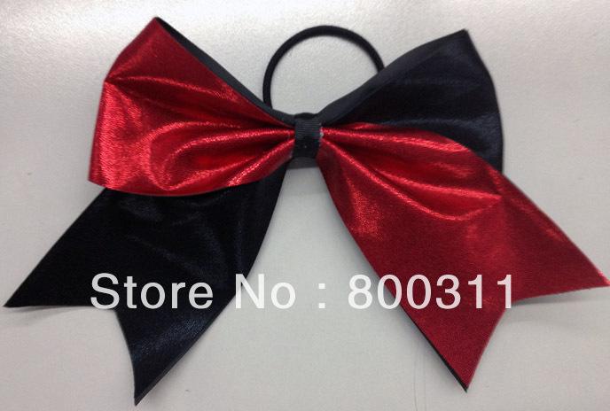 2 colors metallic hair bow(China (Mainland))