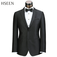 Hot salling America Australia QG single breasted male suit single suit business casual slim hs3509