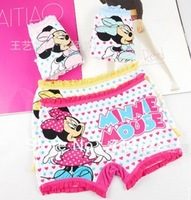 New Minnie underwear cotton children's youngster underwear free shipping6pcs/lot kids pants