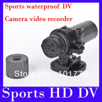EMS Free shiping sports HD DV---- Underwater Action Camera lens:12.0mage 170 degree wide-angle 2pcs/lot