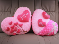 Heart pillow car decoration bed decorations heart cushion wedding gift birthday present for girlfriend gifts