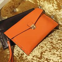 freeshipping 2013 women's handbag fashion vintage bags envelope bag women's fashion messenger bag