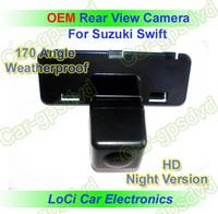 Free shipping! HD Rear View Suzuki Swift 2008- 2010 CCD night vision car reverse camera auto license plate light camera