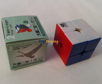 wholesale 20pcs/lot 4.6cm Dayan zhanchi 2x2 I magic speed cube twist puzzle toy + FEDEX/EMS free shipping