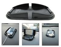 Practical Car Multi-function Anti-Skidding Silicone Mobile Phone Holder 10PCS (Black)