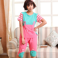Free shipping women's cotton pajamas KT Cat