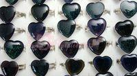 Wholesale 100Pcs Stunning Heart  Mood Rings Vintage