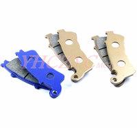 Free shipping for HONDA VFR800 2006-2009/XL1000 Varadero 2004-2009 front and rear brake pads set