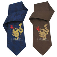 Lucky brocade commercial quality male tie