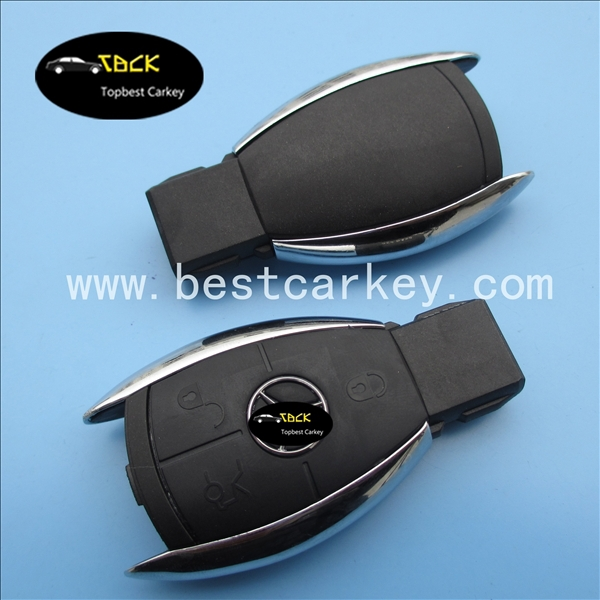 Best price 3 buttons smart key case key for mercedes benz mercedes smart key mercedes key(China (Mainland))