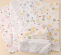 Free shipping!28x28cm ordinary density Baby Gauze Muslin  Washcloth babysoft Handkerchief 20pcs/lot wholesale