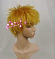 Package mailed Cosplay wig/naruto naruto wig fairy tail leno/black battery ichigo  Naruto wig