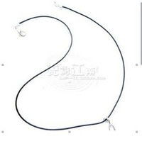Advanced rope necklace black leather pendant rope accessories 0.7 night market