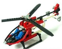 Decool Helicopter 3336 Building Blocks Sets 150pcs Enlighten Educational DIY Construction Bricks toys for children No box