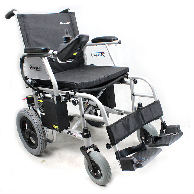 Wheelchair opened electric wheelchair ew1200 light folding electric wheelchair scooter old-age car(China (Mainland))