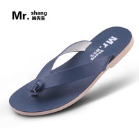 Male slippers summer fashion flip flops male flip slippers male beach slippers