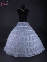 WP-06 6 Hoop Bridal Wedding Petticoat Underskirt