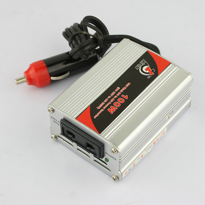 12V DC to 220V AC Car Power Inverter Adaptor Converter 100W(China (Mainland))