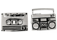 Classic The Tape Recorder  Design  Fashion  Cufflinks for mens  jewelry  A0996