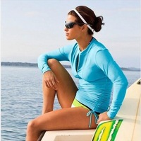 2013 UPF50+ Women's Full Neoprene Wetsuit for Diving, Swimming,Surfing, Snorkelling and Windsurfing Free Shipping