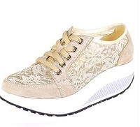 2013 new woman shook her shoes and exercise to lose weight casual flat shoes , fashion platform shoes Trifle 30-39