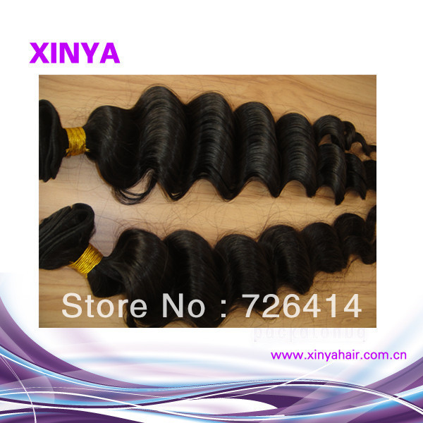 100% Virgin Malaysian bet price 1piece/lot Loose deep wave Hair extension supplier(China (Mainland))