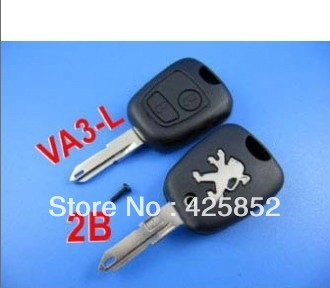 high quality Special offer peugeot remote key shell 2 button ( 206 )(China (Mainland))