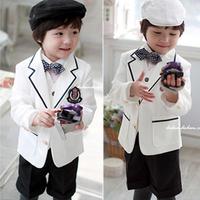 boy blazer 2014 spring new Boy's suit/Male child suit/flower boy formal suit/ / spring and autumn formal suit set/boys blazer
