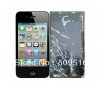 Buff Anti-Shock screen protector film for iphone4/4s wholesale freeshipping