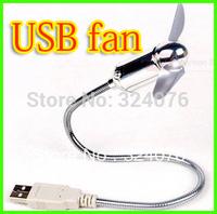 Flexible USB Snake Mini Fan Notebook Laptop PC Fan  usb fan/Fan for Laptop Desktop(no colorful lights)