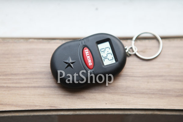 Pocket-size portable alarm clock red alarm clock voice timekeeping alarm clock(China (Mainland))