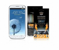 Buff Shock absorption screen protector film for Samsung Galaxy S3 wholesale freeshipping