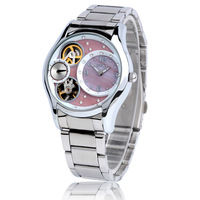 Vintage full rhinestone waterproof ladies watch mechanical watch elegant fashion steel watch ladies watch